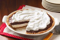 Mud Pie 22 NILLA Wafers, crushed (about 3/4 cup) 1/2 cup finely chopped pecans 2 Tbsp. butter, melted 1 pkg. (8 oz.) brick cream cheese, softened 3/4 cup powdered sugar 1-1/2 cups thawed COOL WHIP Whipped Topping, divided 1 pkg. (3.9 oz.) JELL-O Chocolate Instant Pudding 1-3/4 cups cold milk