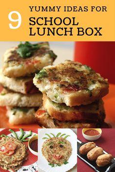 Home Made Doggy Foodstuff FAQ's And Ideas School Lunch Box Ideas - Healthy, Vegetarian, Kid Friendly, Kids Tiffin Ideas Healthy Dinner Recipes, Indian Food Recipes, Vegan Recipes, Healthy Meals, Indian Snacks, Indian Foods, Healthy Kids, Healthy Food, Yummy Food