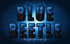 Blue Beetle III  - Jemie Reyes version (Teen Titans/Justice League) Wallpaper