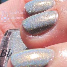 Blue-Eyed Girl Lacquer: Siren's Grey Mood (Siren Series) #blueeyedgirllacquer #begl #beglove #swatch #indiepolish #beglsiren