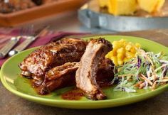 Alabama Cooking: Slow-Cooked Sweet & Spicy Baby Back Ribs