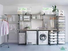 Come organizzare la lavanderia