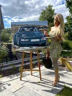 (1) Tanja Stadnic | LinkedIn Car Painting, Luxury Cars, Porsche, Paintings, Activities, Painting Art, Painting, Paint, Exotic Cars