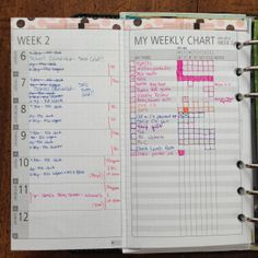 Weekly View & Weekly Chart - DIYFish LMI v02. Lots of great calendar inspiration on this site!