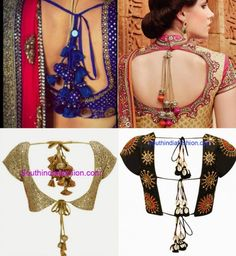 saree_blouse_with_bunch_of_tassels