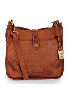 In love with this Campus Crossbody - Saddle purse from Frye. -Andrea