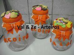 biscuits vidros bombons - Pesquisa Google