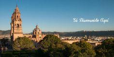 A tan sólo tres horas y media de #Guadalajara y #CDMX encontrarás una ciudad que te enamorará! #Morelia levantando suspiros #SéBienvenidoAquí