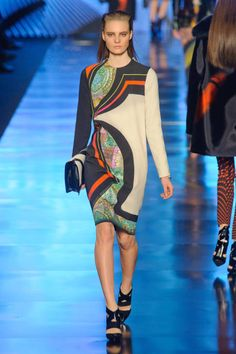 Etro Fall 2013 Ready-to-Wear Runway - Etro Ready-to-Wear Collection