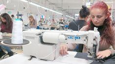Billiglohnparadies Balkan: In dem kleinen Balkanland Mazedonien nähen  Textilarbeiterinnen hauptsächlich für den Export  nach Deutschland: Leben können sie von ihrem  Lohn kaum.