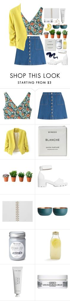 """""""Simple Dream"""" by kiki0122 ❤ liked on Polyvore featuring Aula Aila, HUGO, Byredo, Nly Shoes, LIST, Mulberry, H&M, Bormioli Rocco and Kiehl's"""