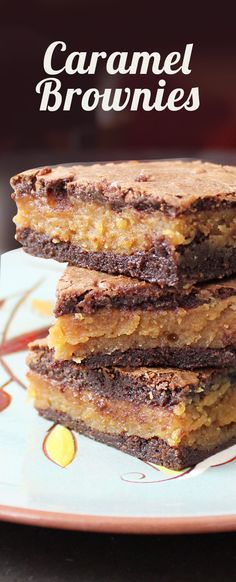 These are amazing! These caramel brownies are the one dessert that my family always asks me to make.