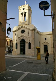 Old town church from venetian time