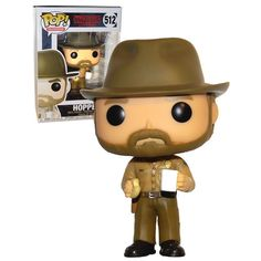 Funko POP! Television Stranger Things #512 Hopper (With Coffee & Donut) - New, Mint Condition. https://www.supportivepc.com/funko-pop-television-stranger-things-512-hopper-wi #Funko #FunkoPop #StrangerThings #Collectibles