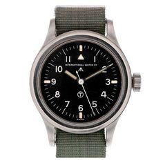 "IWC ""Mark XI"" British Military Wristwatch circa 1951"