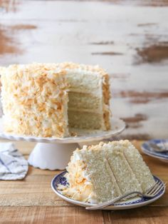 Southern Coconut Cake - Completely Delicious