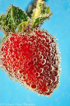 Bubbly Fruit:  Strawberry  http://mypixelatedoasis.blogspot.com/