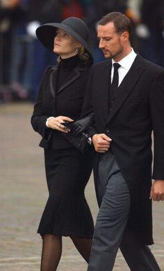 Crown Prince Haakon & Princess Mette Marit of Norway