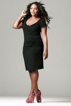 Browse through the styles and choose the perfect plus size little black dress for you. From A-line to bodycon, which one will you fall in love with? Plus Size Black Dresses, Hey Gorgeous, Beautiful, Daily Wear, Dress For You, Plus Size Fashion, Designer Dresses, Curvy, Fashion Outfits