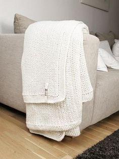 DIY   riesige Häkeldecke für die Couch   mxliving