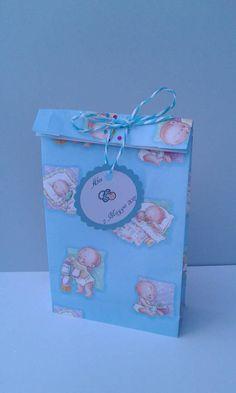 Confettata/Battesimo/Bambino/Tag save the date/Bambina/confettata/handmade/Sacchetti/ un sacchetto per confettata battesimo + nastro + tag