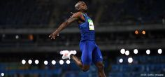 Jeffrey Henders wins 2016 Olympic Gold in the Long Jump on last try!  Al Joyner, his coach, gave Jeffrey the gold medal he won and told him to give it back once he earned his own.  Which he did.  Al Joyner's late wife, Florence Griffeth Joyner, was one of my Track & Field Idols growing up!