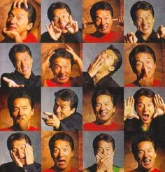 Good night everyone how are you ☺ cheerful faces 😄 #monkey 🐵 I am Jackie Chan magazine