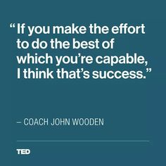 TED Talk on difference btwn succeeding and winning.