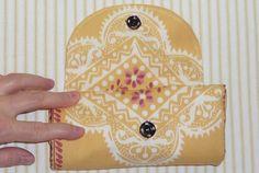 DIY - Fold-up shopping bag - with bag tutorial