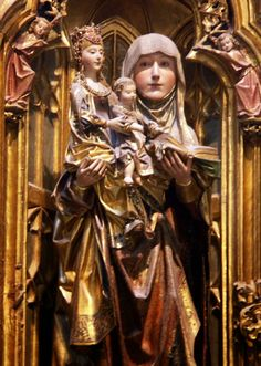 Retablo de Sta Ana. Capilla del Condestable.  Gil de Siloe. Catedral de Burgos