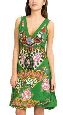 Desigual Yentes Dress Knit Dress, Robes Imprimées, Fall Winter, Summer  Dresses, Casual c90703183b7e