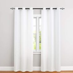 jinchan White Curtains for Bedroom 84 inches Length Waffle-Weave Textured Curtain Panels for Living Room Window Treatment Set Kitchen Curtains 2 Panels Curtains And Draperies, Privacy Curtains, Home Curtains, Green Curtains, Curtains Living, Velvet Curtains, Living Room Windows, Kitchen Curtains, Panel Curtains