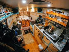 A cool list of creative and inspiring campervan layouts! Lots of cool van life ideas here from rustic to modern interiors. I love the idea of using recycled wood in my next project. I can wait to start my next van build! #vanlife