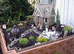 Jo & Danya's Miniature Garden, 2 of 2, Monroe, Wa. #minigarden #garden #craft www.shop.twogreenthumbs.com