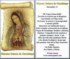 Cerca Horizontal, Oracion A Santa Rita, Prayer For Family, Catholic Religion, Catholic Prayers, Blessed Virgin Mary, Daily Prayer, Blessed Mother, Religious Quotes