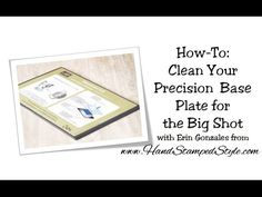 How To: Keep Your Precision Plate Like NEW! with this one simple tip.