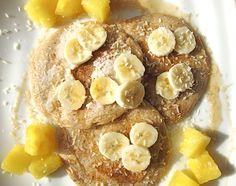 Vegan Pina Colada Pancakes
