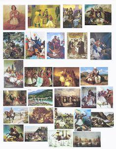 Τα πρωτάκια 1: Επιτραπέζια για την Επανάσταση του 1821(Με τους ήρωες του '21-Το πνεύμα του '21) 21st, Painting, Painting Art, Paintings, Painted Canvas