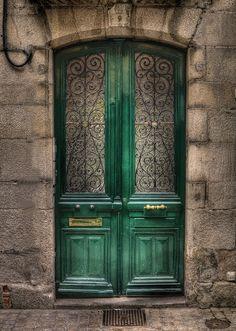 A door to Quimper, Bretagne Cool Doors, Unique Doors, The Doors, Windows And Doors, Front Doors, Grand Entrance, Entrance Doors, Doorway, Door Knockers