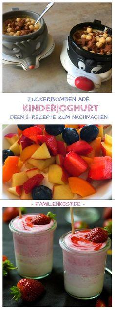 Kinderjoghurt selber machen statt Fruchtzwerge