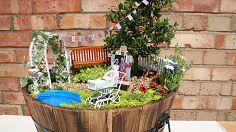 Garden Walk - Fairies, Gnomes, and Flower Garden Design
