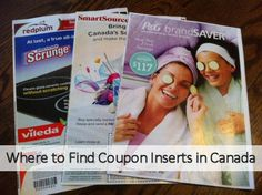 Where to Find Coupon Inserts in Canada