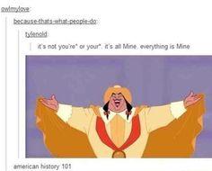 American History in a nutshell