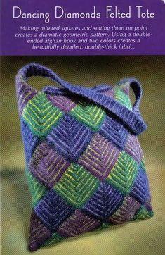 Este esquema de quadro perfeito em crochê, é igual ao de tricô, possibilitando variações mil, com a alteração de cores. Antes que me pergunt...