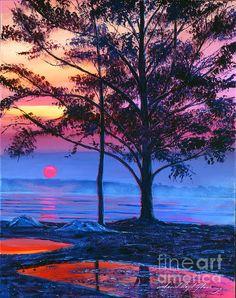 Vivid realism painting by David Lloyd Glover