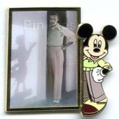Disney WDW It All Started With Walt and Mickey Shadow Pin