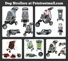 Pet strollers that work great for your dog or cat. Make sure your dog or cat is pampered with one of our pet strollers today!