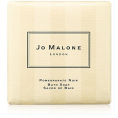 Jo Malone London Pomegranate Noir Bath Soap (925 DOP) ❤ liked on Polyvore featuring beauty products, bath & body products, body cleansers, beauty, filler, apparel & accessories, no color and jo malone