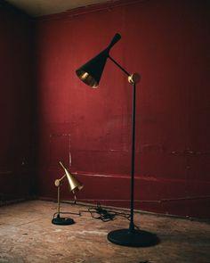 Tom Dixon Beat Lamps.  For SR Hughes Tom Dixon Beat, Desk Lamp, Table Lamp, Spring 2015, Lamps, Modern Design, Campaign, Home Decor, Lightbulbs