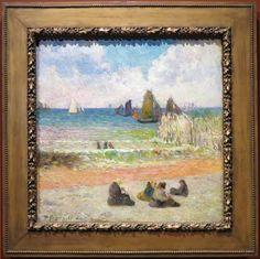 Coast at Dieppe, 1885